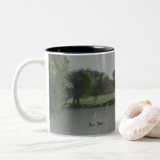 Rainy Day at the Lake Mug