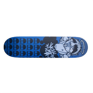 rainy day blues deck by DOLLA Skate Boards