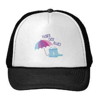 Rainy Day Blues Trucker Hat