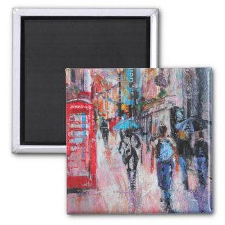 Rainy Day Carnaby Street Magnet