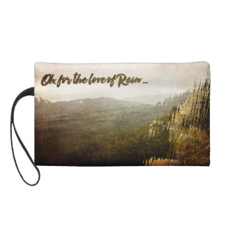 Rainy Day Cosmetic Bag with Wristlet