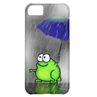 Rainy Day Frog Cover For iPhone 5C