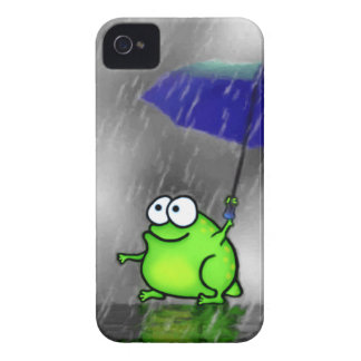 Rainy Day Frog iPhone 4 Covers