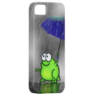 Rainy Day Frog iPhone 5 Case