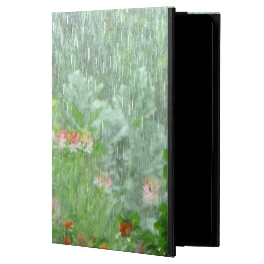Rainy Day in Summer Flower Garden iPad Air 2 Case