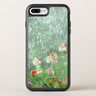 Rainy Day in the Flower Garden OtterBox Symmetry iPhone 8 Plus/7 Plus Case