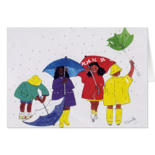Rainy Day Kids Card