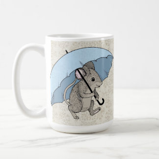 Rainy Day Mouse Coffee Mug