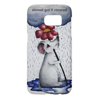 Rainy Day Mouse Phone Case