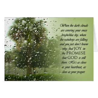Rainy Day Promise Card