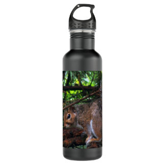 Rainy Day Squirrel Liberty Bottle