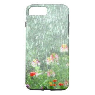 Rainy Day Summer Flower Garden iPhone 8 Plus/7 Plus Case