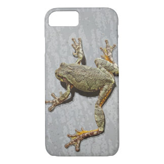 Rainy Day Tree Frog On Glass Case-Mate iPhone Case