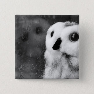 Rainy Days Make Me Think Of You 2 Inch Square Button