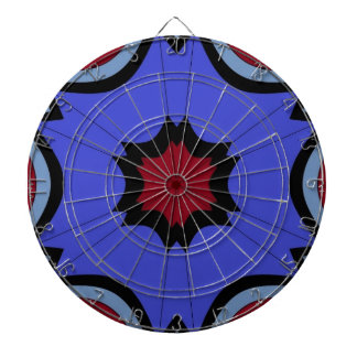 rainy days under umbrella skies dartboard