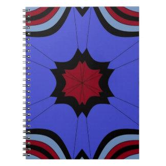 rainy days under umbrella skies notebook