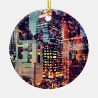 Rainy NYC Ornament