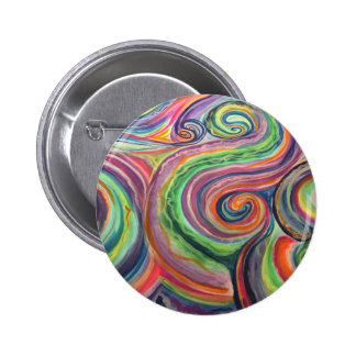 Rainy Outside, Sunny Inside 2 Inch Round Button