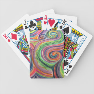 Rainy Outside, Sunny Inside Bicycle Playing Cards