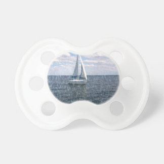 Rainy Sail Boat Pacifier