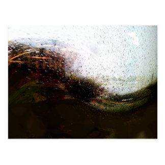 Rainy Sort-Of Day Postcard