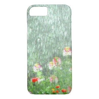 Rainy Summer Flower Garden iPhone 8/7 Case