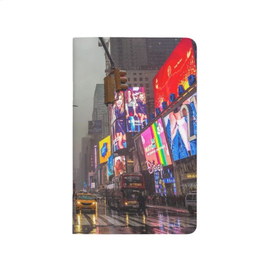 Rainy Times Square Journal
