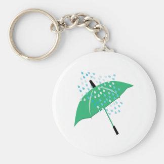 Rainy Umbrella Key Chains