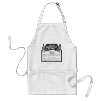 Raise Squabs - It pays all the year round Standard Apron