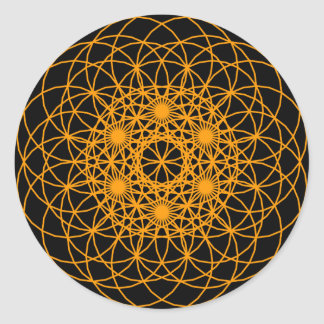 "Raise The Chakra ""Creation"" Round Sticker"