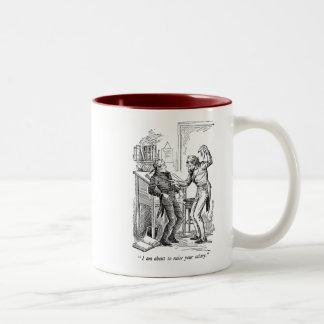 Raise Your Salary (with text) Mug
