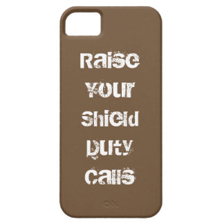 Raise Your Shield iPhone 5 Cover