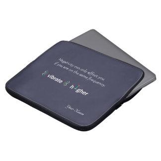 Raise your vibration laptop sleeve