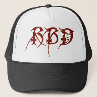 Raised By Demons Initials Trucker Hat