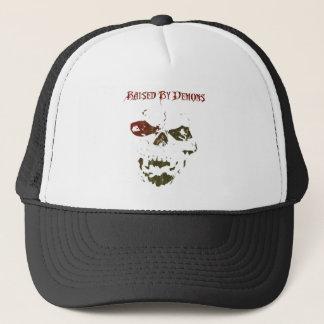 Raised By Demons logo Trucker Hat