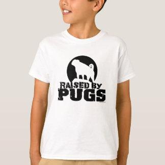 RAISED BY PUGS Kids Shirt