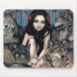 """Raised by Wolves"" Mousepad"