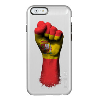 Raised Clenched Fist with Spanish Flag Incipio Feather® Shine iPhone 6 Case