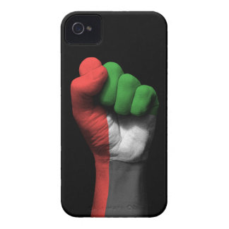 Raised Clenched Fist with UAE Flag Case-Mate iPhone 4 Case