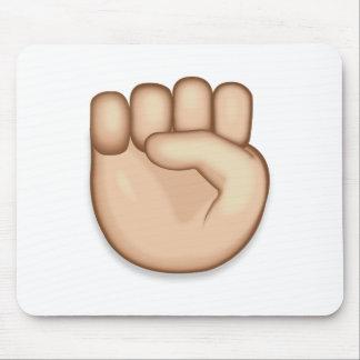 Raised Fist Emoji Mouse Pad