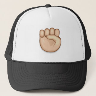 Raised Fist Emoji Trucker Hat