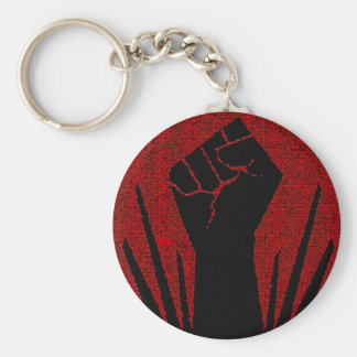 Raised Fist Keychain