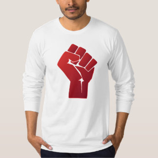 Raised Red Gradient Fist T-Shirt