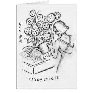 Raisin' Cookies - Note Card