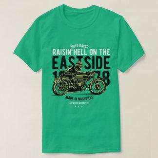 Raisin Hell Moto Racer Men's T-Shirt