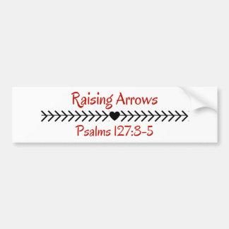 Raising Arrows Bumper Sticker