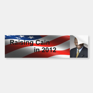 Raising Cain Bumper Sticker