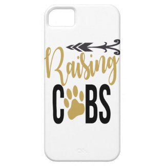 RAISING CUBS BLACK AND GOLD PHONE CASE