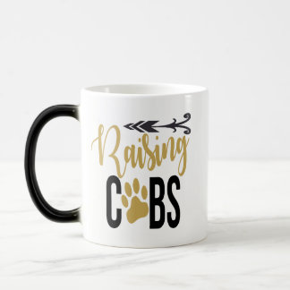 Raising Cubs Black Gold White Coffee Mug