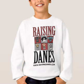 Raising Danes Logo The Color Chart Sweatshirt